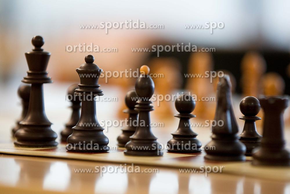 Chess, on April 17, 2012, in  Ljubljana, Slovenia. (Photo by Vid Ponikvar / Sportida.com)