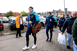 Bryce Heem of Worcester Warriors arrives at Leicester Tigers - Mandatory by-line: Robbie Stephenson/JMP - 23/09/2018 - RUGBY - Welford Road Stadium - Leicester, England - Leicester Tigers v Worcester Warriors - Gallagher Premiership