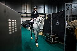 Zorzi Alberto, ITA, Florette van het Lambroeck<br /> Indoor Brabant 2018<br /> © Sharon Vandeput<br /> 11/03/18