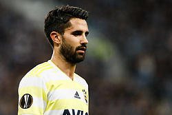 February 21, 2019 - Saint Petersburg, Russia - Alper Potuk of Fenerbahce SK looks on during the UEFA Europa League Round of 32 second leg match between FC Zenit Saint Petersburg and Fenerbahce SK on February 21, 2019 at Saint Petersburg Stadium in Saint Petersburg, Russia. (Credit Image: © Mike Kireev/NurPhoto via ZUMA Press)