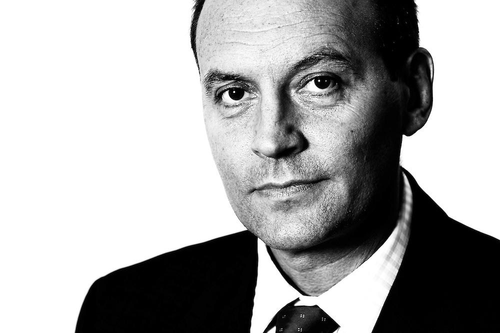 Black & white corporate portrait