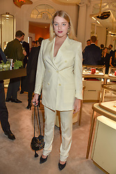 Flora Ogilvy at the reopening of the Cartier Boutique, New Bond Street, London, England. 31 January 2019. <br /> <br /> ***For fees please contact us prior to publication***