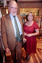 SUE CREWE and CLAUS VON BULOW at a party to celebrate the publication of Sibling Rivalry - Seven Simple Solutions by Karen Doherty & Georgia Coleridge held at Anthropologie shop, 131-141 King's Road, London SW3 on 24th May 2010.