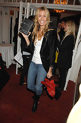 MELISSA ODABASH at the Grand Classics screening of the film 'Don't Look Now' sponsored by Motorola held at The Electric Cinema, 181 Portobello Road, London W11 on 24th September 2007. <br />