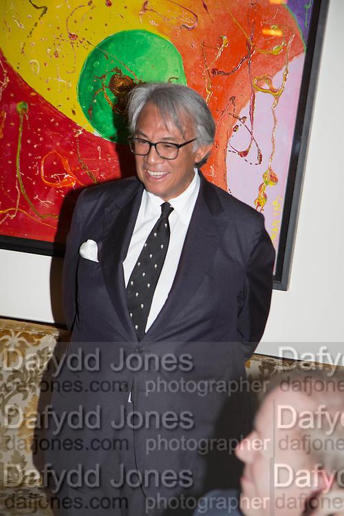 SIR DAVID TANG, Dinner in aid of the China Tiger Revival hosted by Sir David Tang and Stephen Fry  at China Tang, Park Lane, London. 1 October 2013. ,