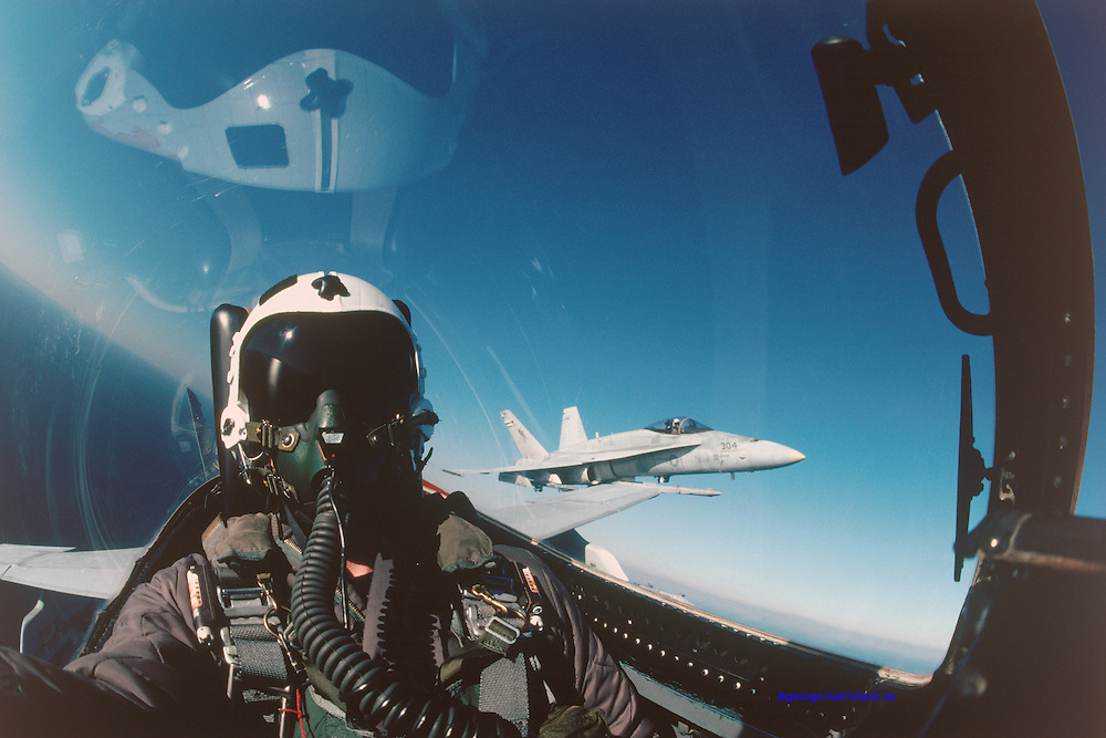 F-18 pilot.  Released.