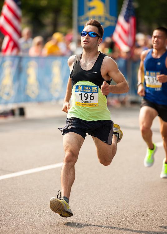 Boston Athletic Association 10K road race: Serna, Dennis, NJ