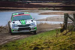 October 5, 2018 - Grande Bretagne - Kalle Rovanpera (FIN) -  Jonne Halttunen (FIN) - SKODA Fabia R5 - WRC2 (Credit Image: © Panoramic via ZUMA Press)