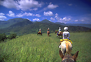 Horseback Riding, Princeville, Hanalei,  Kauai, Hawaii, USA<br />