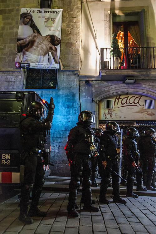 Manifestación apoyo Can Vies.