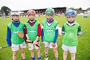 Eoin Fahy, Tuam, Emmett Sweeney Tuam, John McNicholas Tuam and Nathan Gormley Galway City<br />  Photo: Andrew Downes XPOSURE