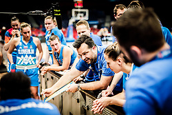 Damir Grgic, head coach of Slovenia during basketball match between Women National teams of Belgium and Slovenia in the Qualification for the Quarter-Finals of Women's Eurobasket 2019, on July 2, 2019 in Belgrade Arena, Belgrade, Serbia. Photo by Vid Ponikvar / Sportida