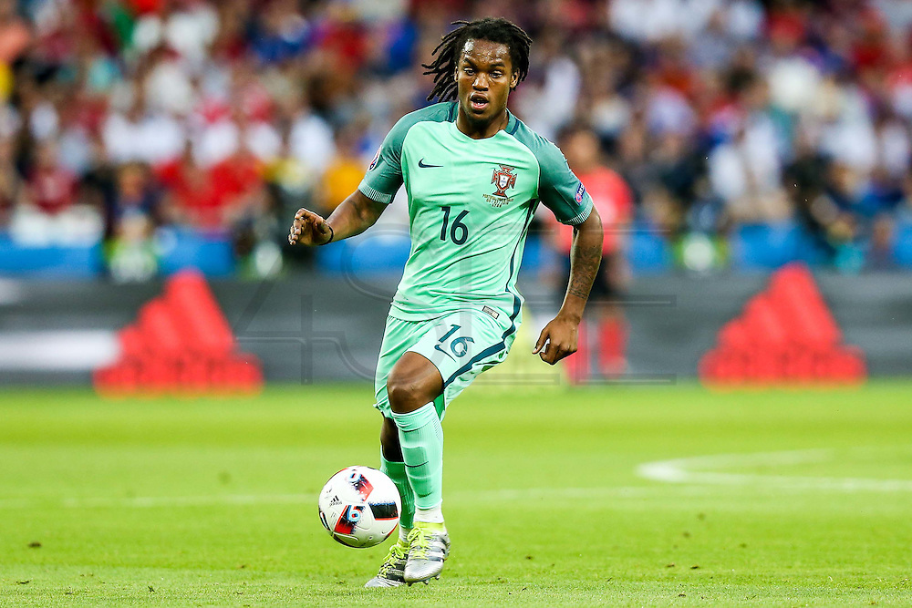LYON, FRANCE, 07.06.2016 - WALES PORTUGAL Renato Sanches in match against Wales, valid for the semi-finals of Euro 2016 at the Grand Stade de Decines-Charpieu near Lyon, France, on Wednesday ( 6).