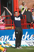 Dundee manager Barry Smith - Dundee v Motherwell, Clydesdale Bank Scottish Premier League at Dens Park.. - © David Young - 5 Foundry Place - Monifieth - DD5 4BB - Telephone 07765 252616 - email: davidyoungphoto@gmail.com - web: www.davidyoungphoto.co.uk
