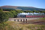 Black 5 ' Sherwood Forrester', Loch Eil, West Highland line.