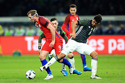 England's Harry Kane skips past Germany's Sami Khedira - Mandatory by-line: Matt McNulty/JMP - 26/03/2016 - FOOTBALL - Olympiastadion - Berlin, Germany - Germany v England - International Friendly