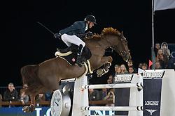 Delestre Simon, (FRA), Ryan Des Hayettes<br /> Grand Prix CSI 5*<br /> Longines Global Champions Tour - Antwerp 2015<br />  © Hippo Foto - Dirk Caremans<br /> 25/04/15