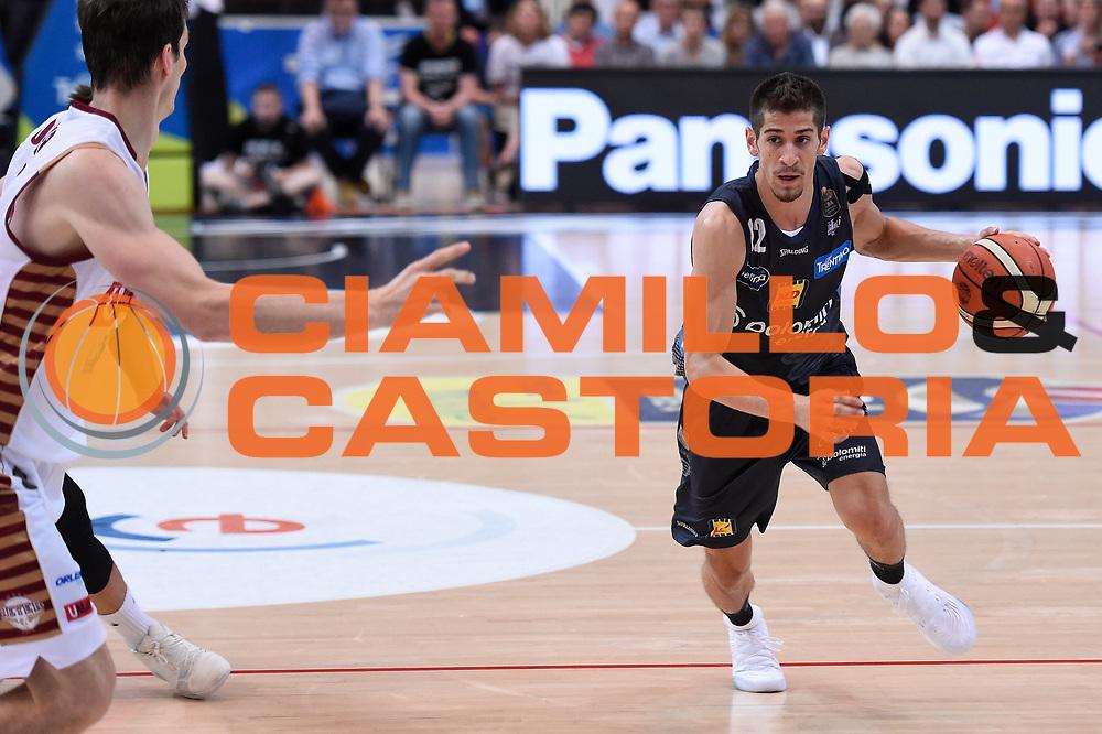 Diego Flaccadori<br /> Dolomiti Energia Aquila Basket Trento - Umana Reyer Venezia<br /> Lega Basket Serie A 2016/2017<br /> Playoff, finale gara 4<br /> Trento, 16/06/2017<br /> Foto M.Ceretti / Ciamillo-Castoria