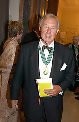 SIR TERENCE CONRAN at The Royal Academy dinner before the official opening of the Summer Exhibition held at the Royal Academy of Art, Burlington House, Piccadilly, London W1 on 6th June 2006.<br />