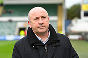 Accrington Stanley manager John Coleman before the EFL Sky Bet League 2 match between Plymouth Argyle and Accrington Stanley at Home Park, Plymouth, England on 1 April 2017. Photo by Graham Hunt.
