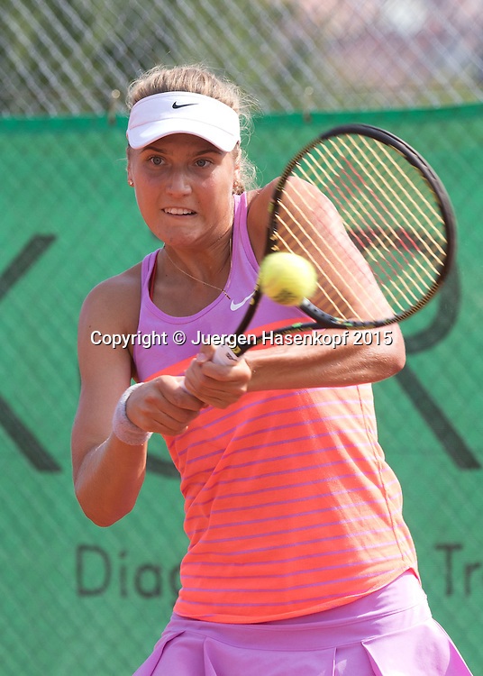 Antonia Lottner (GER))<br /> <br /> Tennis - Hechingen Ladies Open - ITF 25.000 -  TC Hechingen - Hechingen -  - Germany - 13 August 2015. <br /> &copy; Juergen Hasenkopf