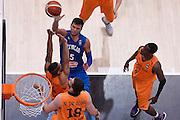 DESCRIZIONE : Trento Nazionale Italia Uomini Trentino Basket Cup Italia Paesi Bassi Italy Netherlands <br /> GIOCATORE : Alessandro Gentile<br /> CATEGORIA : tiro penetrazione special<br /> SQUADRA : Italia Italy<br /> EVENTO : Trentino Basket Cup<br /> GARA : Italia Paesi Bassi Italy Netherlands<br /> DATA : 30/07/2015<br /> SPORT : Pallacanestro<br /> AUTORE : Agenzia Ciamillo-Castoria/R.Morgano<br /> Galleria : FIP Nazionali 2015<br /> Fotonotizia : Trento Nazionale Italia Uomini Trentino Basket Cup Italia Paesi Bassi Italy Netherlands