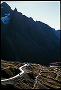 North Yungas Road, the most dangerous road in the world, Bolivia, 2003