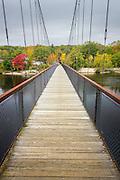 Androsscoggin Swinging Bridge, Brunswick/Topsham, Maine