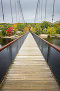 Androsscoggin Swinging Bridge, Brunswick/Topsham, Maine