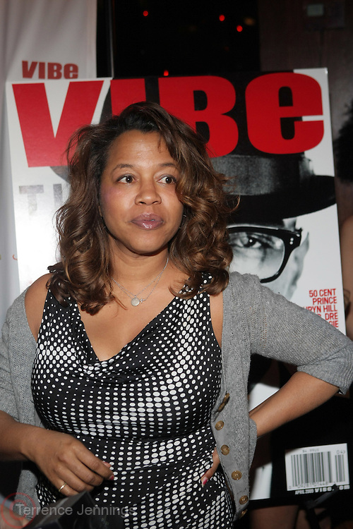 Danyel Smith at The Vibe Magazine private reception in honor of Grammy Award winning Superstar artist and actor, T.I held at The Eldrige on February 9, 2009 in New York City