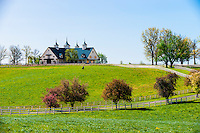 Manchester Farm (thoroughbred horse farm), Lexington, Kentucky USA.