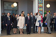 Genofte ,14-04-2016<br /> <br /> President and Ms Angélica Rivera to Denmark.<br /> <br /> Visit to Tj&oslash;rnegaard School<br /> TRH the Crown Prince Couple HE the President and Ms Angélica Rivera<br /> <br /> <br /> ROYALPORTRAITS EUROPE BERNARD RUEBSAMEN
