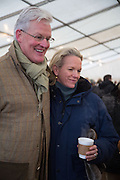 RODERICK FLEMING; ELISABETH MURDOCH, Heythrop Point to Point. At a  new course at Cocklebarrow near Aldsworth. 11 January 2014