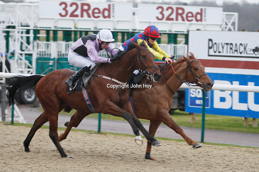 Resplendant Alpha and Leonna Mayer winning the 2.35 race