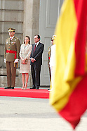 062514 Spanish Royals receive Armen Forces and Guardia Civil Members