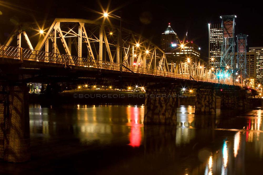Hawthorne Bridge Hawthorne Bridge Portland Oregon