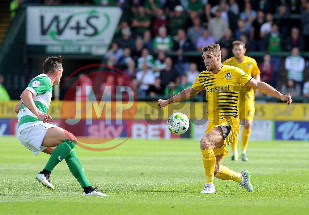 Lee Brown - Mandatory byline: Neil Brookman/JMP - 07966386802 - 15/08/2015 - FOOTBALL - Huish Park -Yeovil,England - Yeovi Town v Bristol Rovers - Sky Bet League One
