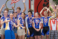 UC Davis finished second in the Final Division I overall team standings.  <br /> <br /> The 2007 USA Cycling Collegiate Road Championship criterium was held in downtown Lawrence, Kansas on May 13, 2007.