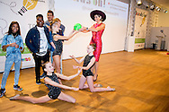 AMSTERDAM - Koningin M&aacute;xima opent dinsdagochtend 13 oktober 2015 de tiende editie van de Hands On! Conference in het Rijksmuseum in Amsterdam. De conferentie is een initiatief van Hands On! International Association of Children in Museums, een internationaal netwerk dat de kwaliteit en toegankelijkheid van musea wereldwijd voor kinderen wil verbeteren. COPYRIGHT ROBIN UTRECHT<br /> AMSTERDAM - Queen M&aacute;xima opens Tuesday morning, October 13, 2015, the tenth edition of the Hands On! Conference at the Rijksmuseum in Amsterdam. The conference is an initiative of Hands On! International Association of Children in Museums, an international network that aims to improve children worldwide for the quality and accessibility of museums. COPYRIGHT ROBIN UTRECHT