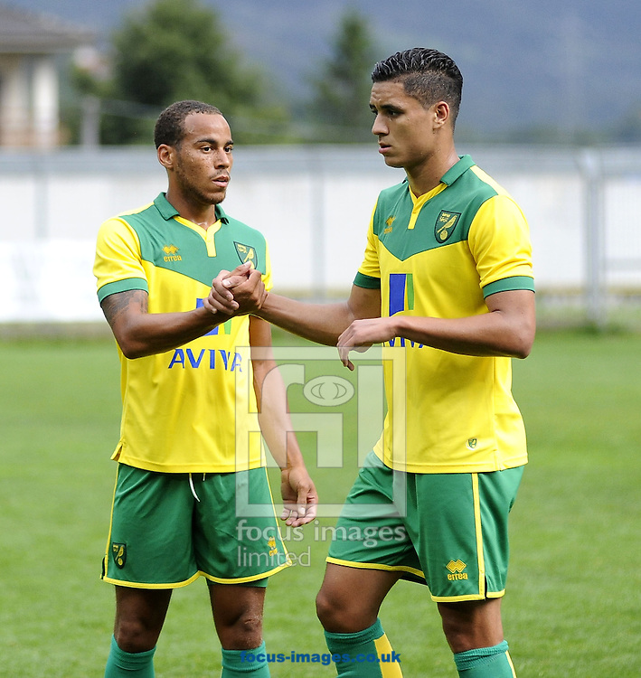 SC Vallee D'Aoste v Norwich City during the Pre Season Friendly match at Piergiorgio Perucca Stadium, Aosta<br />