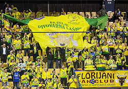 Florijani, fans of Celje PL during handball match between RK Celje Pivovarna Lasko and RK Gorenje Velenje in Eighth Final Round of Slovenian Cup 2015/16, on December 10, 2015 in Arena Zlatorog, Celje, Slovenia. Photo by Vid Ponikvar / Sportida