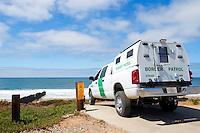 U.S. Border Patrol Truck, Border Field State Park, California