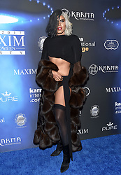 EJ Johnson attends the 2017 Maxim Halloween Party on October 21st, 2017 in Los Angeles, California. Photo by Lionel Hahn/AbacaPress.com
