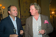 Rory Ross and Ranald Macdonald of Clanranald, Launch of  ñMy Beautiful Gameî by Nancy DellÍOlio<br />