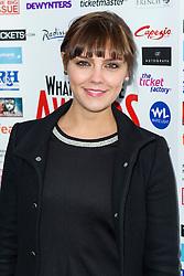 © Licensed to London News Pictures. 06/12/2013, UK. Annabel Scholey, WhatsOnStage Awards Nominations - launch party, Cafe De Paris, London UK, 06 December 2013,. Photo credit : Raimondas Kazenas/Piqtured/LNP