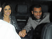 13.NOVEMBER.2009 - LONDON<br /> <br /> X-FACTOR JUDGE CHERYL COLE WHO'S ACT JOE MCELDERRY WON THE COMPETION LEAVING THE X-FACTOR STUDIOS WITH HUSBAND ASHLEY COLE HAND IN HAND AND SMILING AFTER THE FINAL SHOW IN THE SERIES.<br /> <br /> BYLINE: EDBIMAGEARCHIVE.COM<br /> <br /> *THIS IMAGE IS STRICTLY FOR UK NEWSPAPERS & MAGAZINES ONLY*<br /> *FOR WORLDWIDE SALES & WEB USE PLEASE CONTACT EDBIMAGEARCHIVE-0208 954 5968*