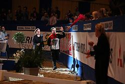Kaiser, Daniel (GER);<br /> Vorgerg, Nina, <br /> Dortmund - Signal Iduna Cup 2016<br /> Voltigieren FEI Weltcup Finale Herren<br /> © www.sportfotos-lafrentz.de / Stefan Lafrentz