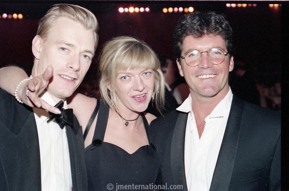 The BRIT Awards 1994 at Alexandra Palace, London.<br /> Monday, Feb.14, 1994 (AP Photo/John Marshall JME)