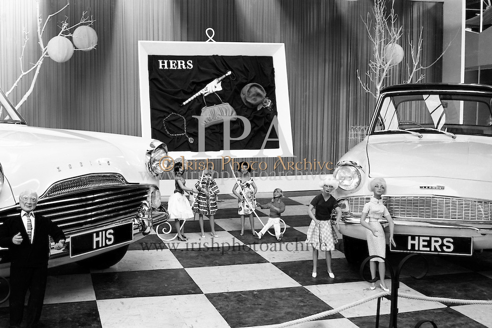 Henry Ford's stand at RDS<br />