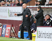 Burnley manager Sean Dyche during the Sky Bet Championship match between Burnley and Brighton and Hove Albion at Turf Moor, Burnley, England on 22 November 2015.